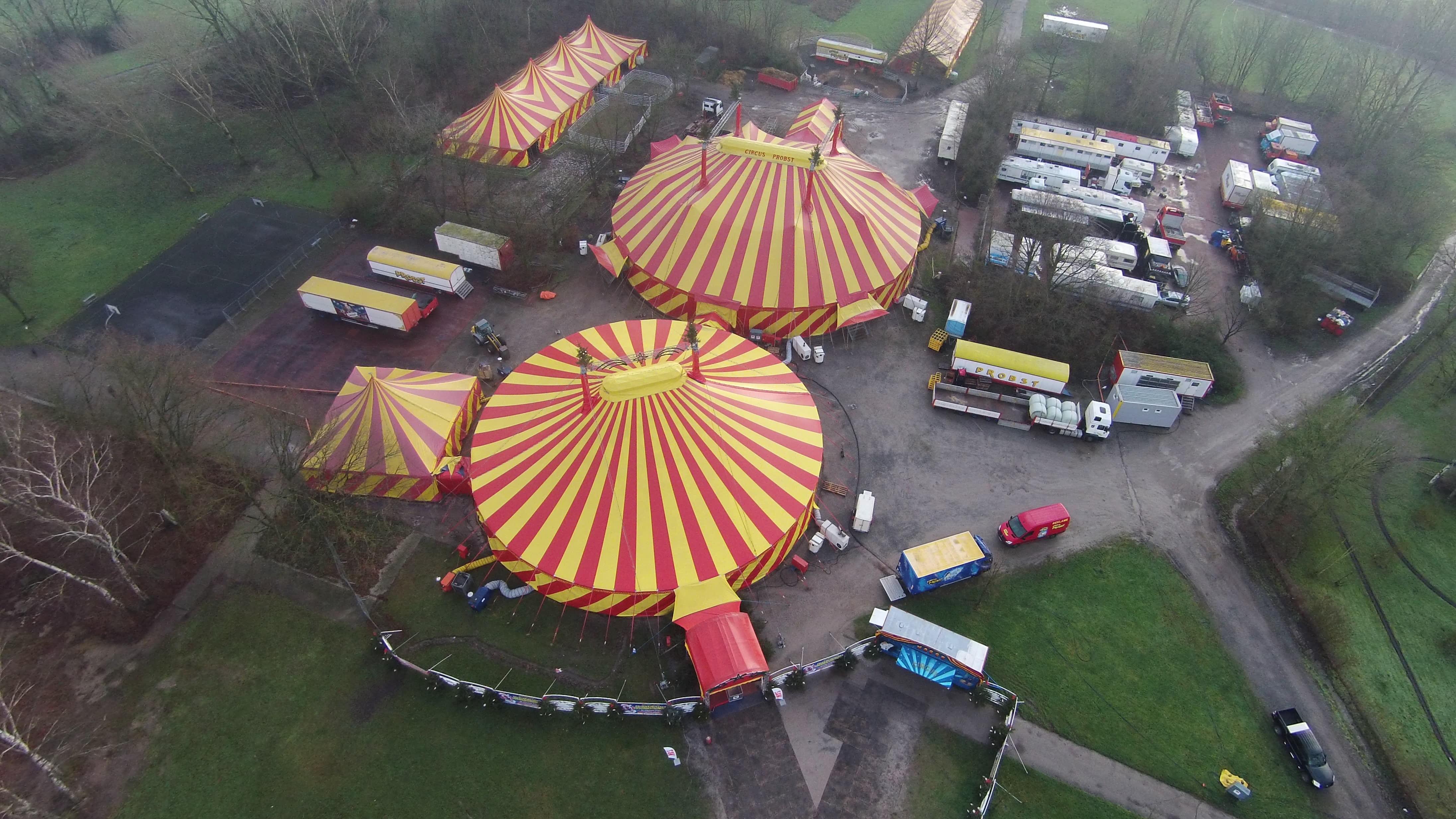 Luftaufnahme Gastspiel Gelsenkirchen 2014